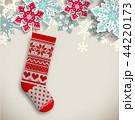 靴下 クリスマス 吊るすのイラスト 44220173