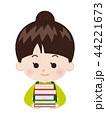 書店員 本 女性のイラスト 44221673