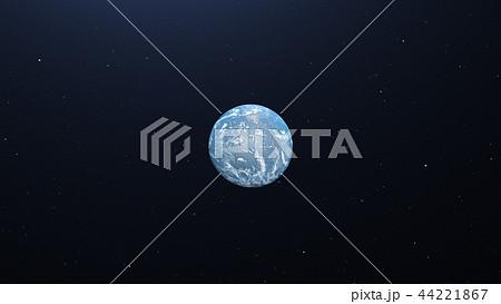 地球3DCG perming3DCG 161002 イラスト素材 44221867