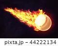 ベースボール 白球 野球のイラスト 44222134