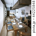 Dining room, rustic and modern style 44225848