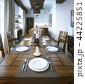 Dining room, rustic and modern style 44225851