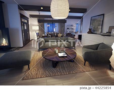 Modern living room 44225854