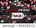 ブラックフライデー 販売 セールのイラスト 44226511