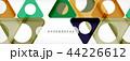 ジオメトリック 幾何学的 カラーのイラスト 44226612