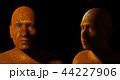 顔 面 面子のイラスト 44227906
