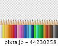 フレーム えんぴつ エンピツのイラスト 44230258