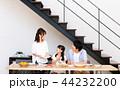 家族 食事 食卓の写真 44232200