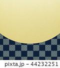 和-和風-和柄-背景-金箔-市松模様 44232251