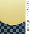 和-和風-和柄-背景-金箔-市松模様 44232252