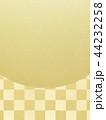 和-和風-和柄-背景-金箔-市松模様 44232258