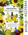 Oils of plants and herbs or fruits and nuts poster 44235944