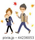 秋 家族で散歩 44236053