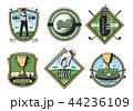 GOLF ゴルフ スポーツのイラスト 44236109