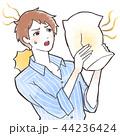 体臭 加齢臭 臭いのイラスト 44236424