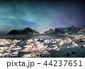 オーロラ 北極光 ボレアリスの写真 44237651