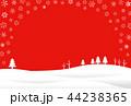 雪 冬 ベクターのイラスト 44238365