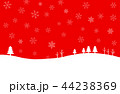 雪 冬 ベクターのイラスト 44238369