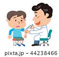 予防接種 男の子 イラスト  44238466