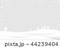 雪 冬 ベクターのイラスト 44239404