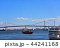 レインボーブリッジ 東京湾 海の写真 44241168