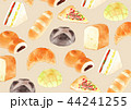 壁紙 パン 水彩のイラスト 44241255