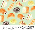 壁紙 パン 水彩のイラスト 44241257