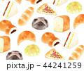 壁紙 パン 水彩のイラスト 44241259