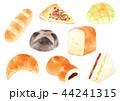 パン アイコン 水彩のイラスト 44241315