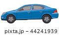 ブルー 青 車のイラスト 44241939