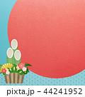 正月 門松 松竹梅のイラスト 44241952
