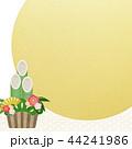 正月 門松 初日の出のイラスト 44241986