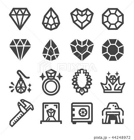 diamond icon 44248972