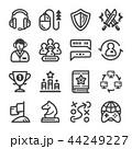 イコン ゲーム 試合のイラスト 44249227