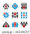 アイコン 人々 人物のイラスト 44249237