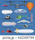 航空機 ベクトル 空中のイラスト 44249799