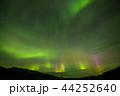 オーロラ アラスカ 極光の写真 44252640