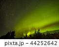 オーロラ アラスカ 極光の写真 44252642