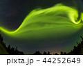 オーロラ アラスカ 極光の写真 44252649