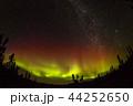オーロラ アラスカ 極光の写真 44252650