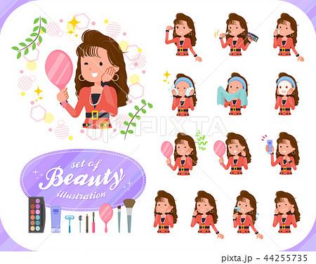 flat type 90s fashion women_beauty 44255735