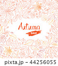 Fall nature pattern. Autumn sale Leaves background 44256055