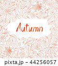 Fall leaf nature pattern. Autumn leaves background 44256057