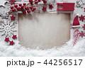 クリスマス コピ-スペース 紙の写真 44256517