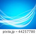 光 ライン 曲線のイラスト 44257780
