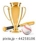ベースボール 白球 野球のイラスト 44258106
