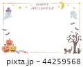 フレーム HAPPY HALLOWEENのイラスト 44259568