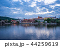 Prague city skyline in Prague, Czech Republic 44259619
