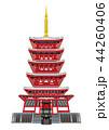 本土寺の五重塔(千葉県松戸市) 44260406