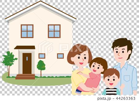 マイホーム 家族 44263363